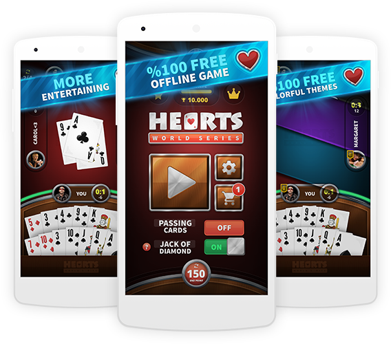 hearts card game free